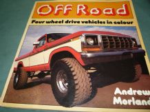 OFF ROAD Four Wheel Drive Vehicles in Colour(Morland 1982)
